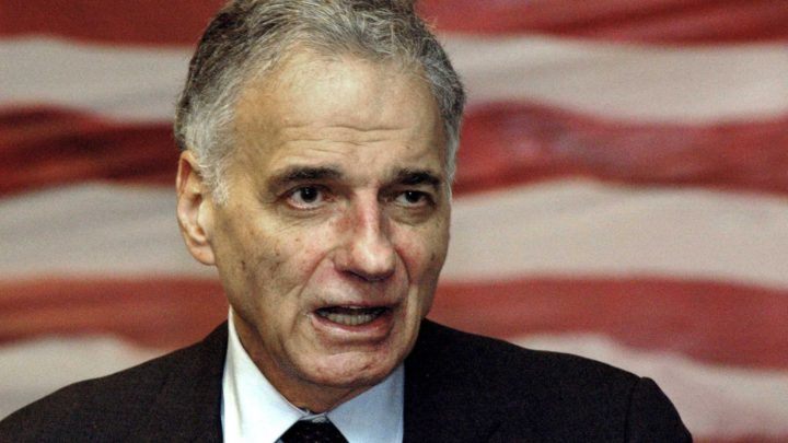 Conn. native Ralph Nader remains a voice for consumers, justice