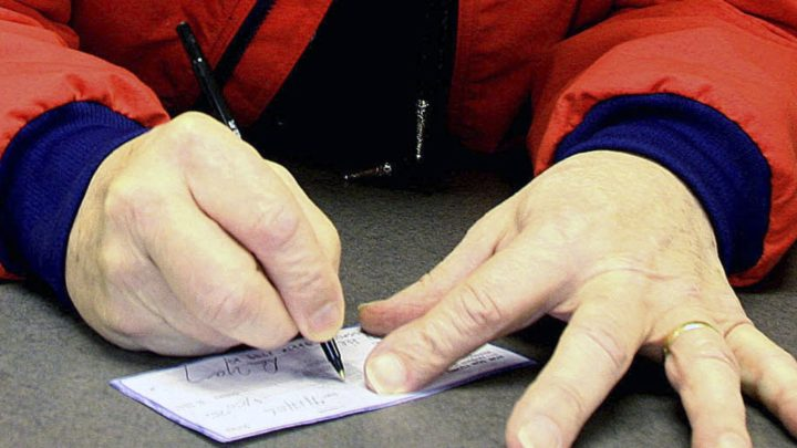 'Live checks' promise cash, but come with a catch