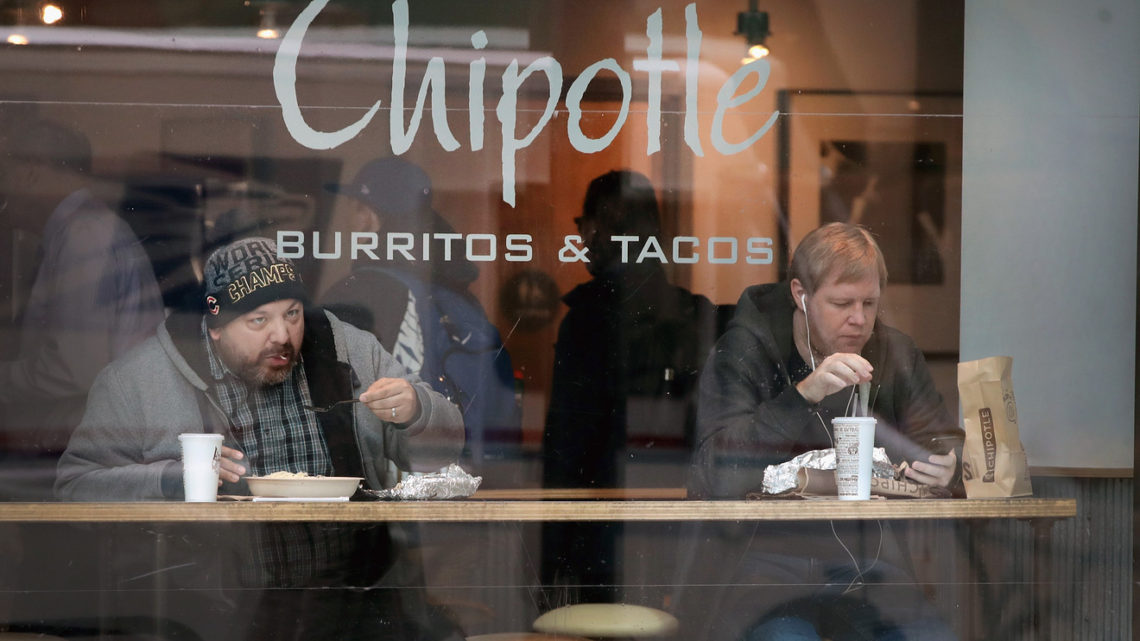 Chipotle's digital sales and marketing initiatives could finally put illness outbreaks in the past