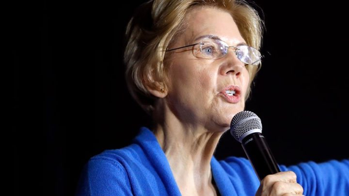 Elizabeth Warren receives standing ovation at surprise visit to Native American conference: report