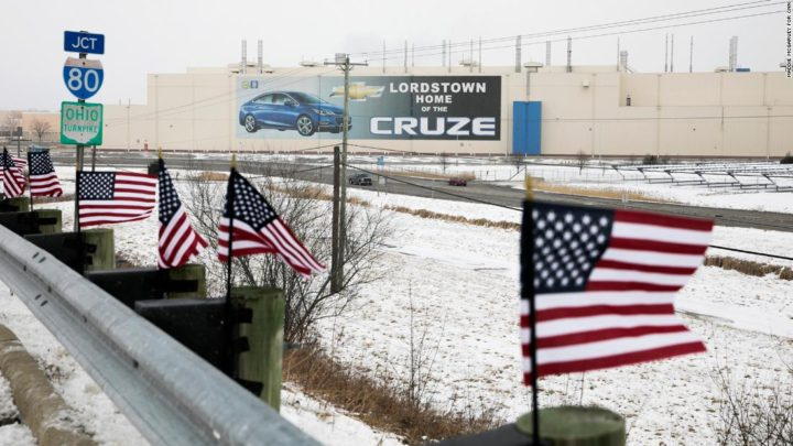 As GM's Lordstown plant idles, an iconic American job nears extinction