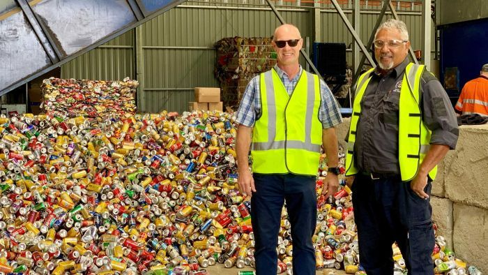 Cherbourg's recycling centre provides jobs and a second chance for people on parole