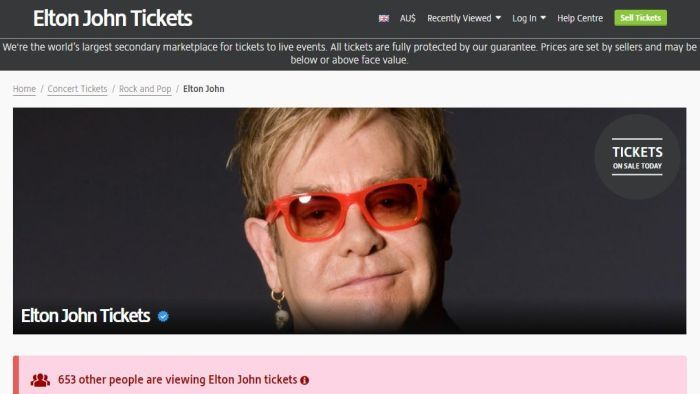 Ticket reseller Viagogo engaged in misleading and deceptive conduct, Federal Court finds