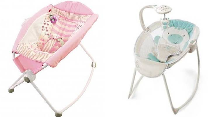 Baby bouncers, rockers and inclined sleep products under review