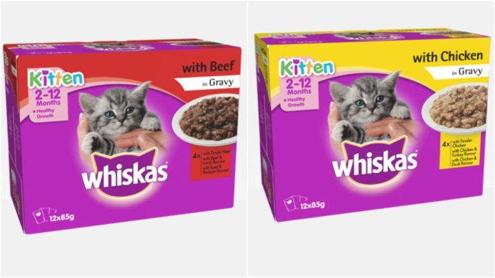 Claims Whiskas Kitten Food Pouches Are Making Kittens Sick