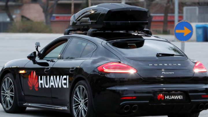 Huawei steps up ambitions in self-driving vehicles race