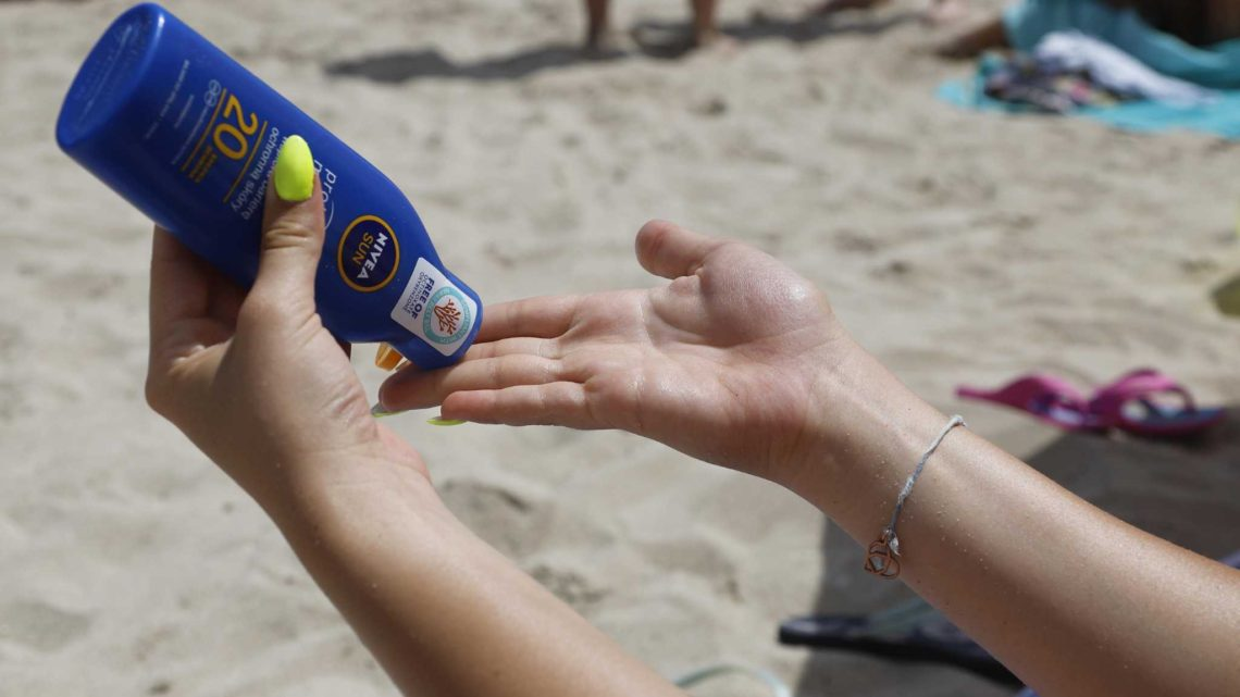 Why were rules on sunscreens put in the CARES Act?