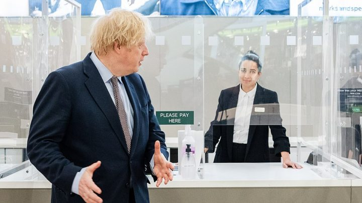 Boris Johnson urges consumers to 'shop with confidence when English high streets reopen TOMORROW