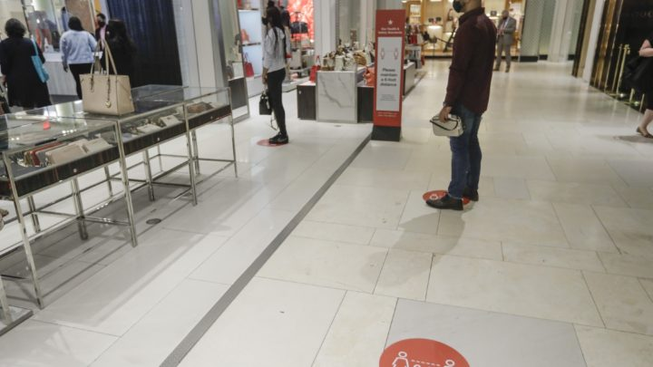 Stores focus on cleaning to get shoppers back to spending
