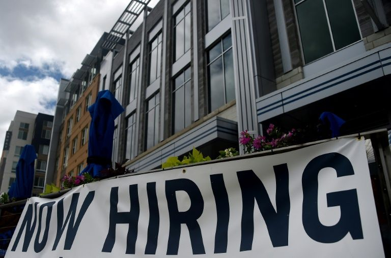 US economy sees solid but slowing job gains in July